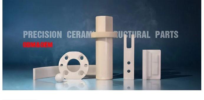 Special shape custom alumina heat resisting industrial ceramic plates