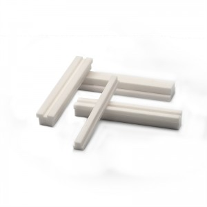 White High Strength Zirconia Ceramic Square Bar For Industrial