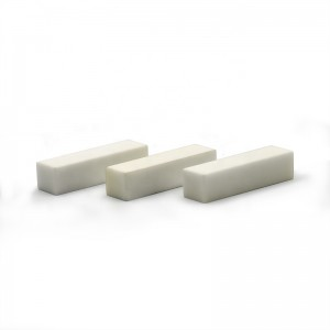Fine polished high precision wear resistant zirconia ceramic block spare parts