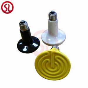 Far Infrared Ceramic Lamp Reptile Emitter Pet Heat Bulb