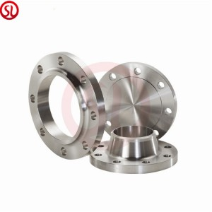 High temperature forged stainless steel flange