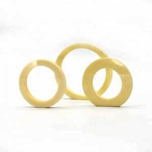 Anti-corrosion Polishing Silicon Carbide Ceramic Ring For Industrial Application