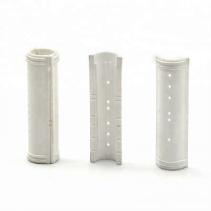 2019 Hot sale heat resistant high precision alumina ceramic pipe/tube