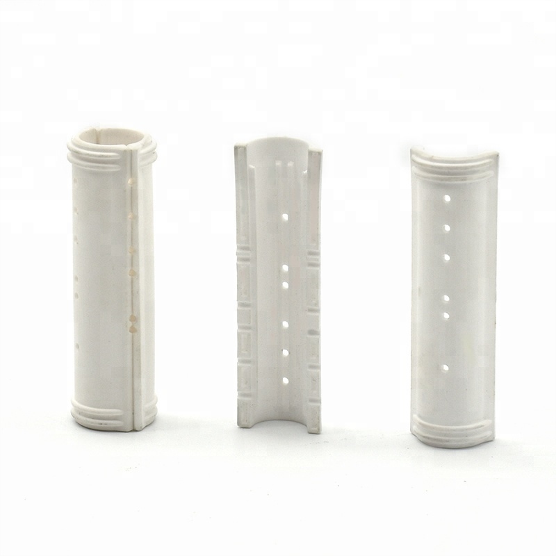 2019 Hot sale heat resistant high precision alumina ceramic pipe/tube