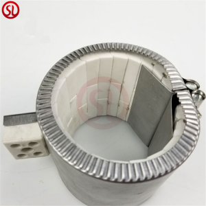 Electric Induction Ceramic Band Heater For Plastic Extruder Barrel