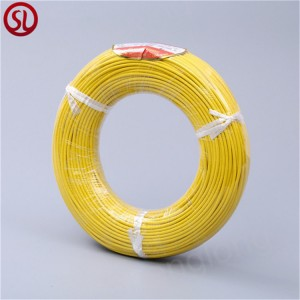 High Temperature Fiberglass Weaving Silicone Rubber Heat Resistance Insulation Wire