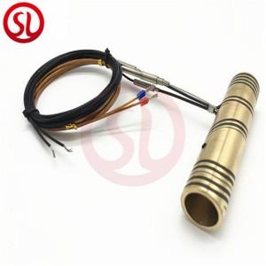 Copper nozzle hot runner coil heater