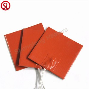Industrial Flexible Heater Silicone Rubber Heater Mat
