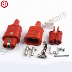 Silicone Rubber Inudstrial Connector High Temperature Plug