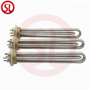 Electric Copper Flange Immersion Water Heater