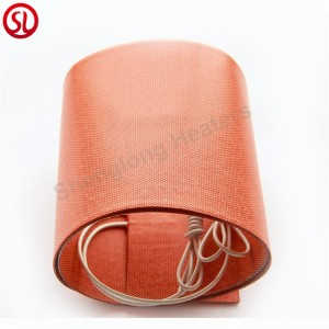 Customized Industrial Flexible Heating element Silicone Rubber Heater