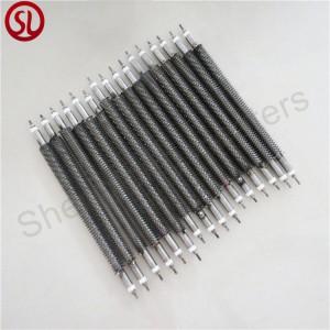 Straight Finned Air Tubular Heater Element