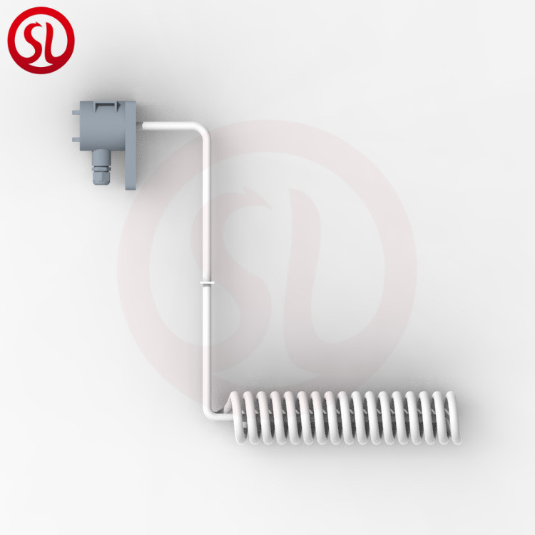 Sprial Z-shaped PTFE Teflon coated immersion heater