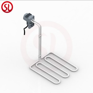Resistance to acid and alkali corrosion Teflon immersion heater