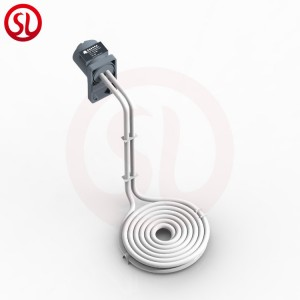 Industrial Teflon immersion heater for acid