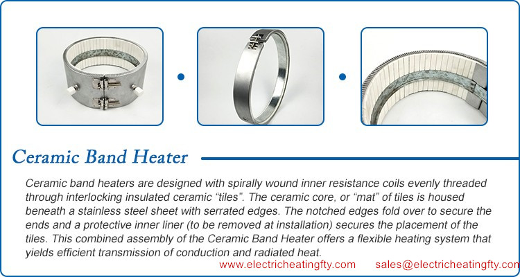 How to make ceramic band heaters?