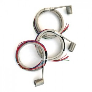 Hot Runner System Axial Clamp Coil Heater for Injection Moulding