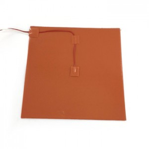 Flexible Heating Mat Silicone Rubber Pad Heater with Thermostat