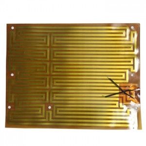 12V 200x200mm Thin Polyimide Film Heater For 3D Printer