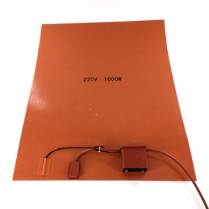 120V Silicone Rubber Heater Pad with Digital Thermocouple