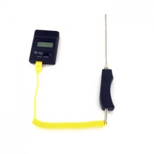 K type handheld temperature sensor surface thermocouple probe