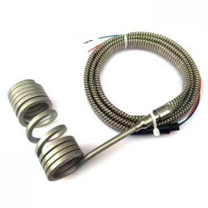Industrial Built-in Thermocouple Hot Runner Coil Heater