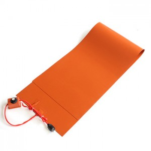 silicone rubber heater pad 200 degree modular for Melting Snow