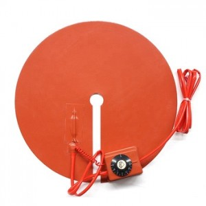 Portable Electric Heater Silicone Rubber Hot Plate with Temperature Controller