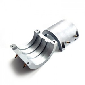 Air cooling brass and copper Cast in aluminum Heater Element for injection moulding