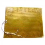 High Temperature Polyimide Heater Film with Pressure Sensitive Adhesive