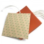 3D Printer Heater Bed Silicone Rubber Heater Pad
