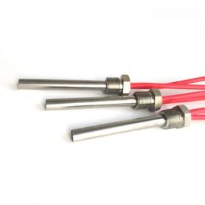 Extruder machine resistance wax cartridge heater