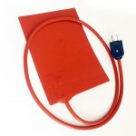 Waterproof Flexible Heating Element Silicone Rubber Pad Heater