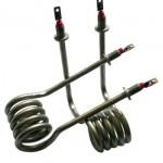 380V 12kw Electric Incoloy Steamer Water Tubular Heater Element for Water Boiler heating