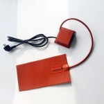 Customized 220V Flexible Silicone Pad Heater with Thermostat