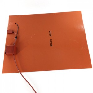 Soft Silicone Heater Pad for Medical Equipment