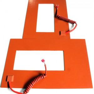 Silicone Rubber Heater for Plastic Pizza Bag