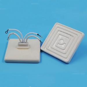 220v 100w Electric resistance flat ceramic far infrared heater