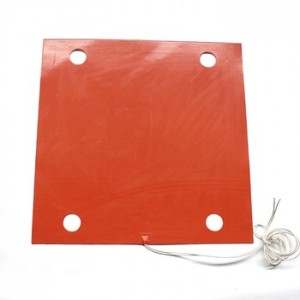 12V 400x400 Silicone Rubber Heater Heating Bed