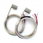 Coil Spring  Hot Runner Heater with Thermocouple for Heat Exchange