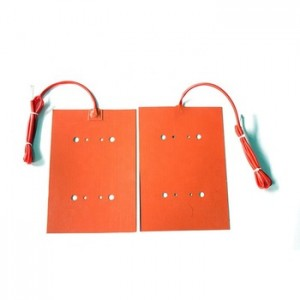 24v silicone rubber heater bed for 3d printer