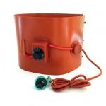 220V 55 Gallon Silicone Rubber Drum Heater with temperature controller