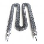 3000W heat exchange stainless steel finned tubular heater air tubular fin heater