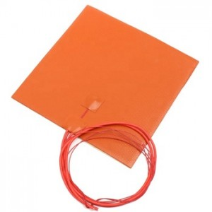 silicone heated bed heating element 220v silicone heater