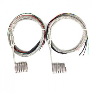 20mm Tube Extrusion Hot Runner Spring Barrel Coil Heater