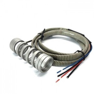Spring Coil Heater Hot Runner Heater 4.2*2.2mm Section Size 220V with K Type Thermocouple