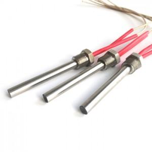 split sheath cartridge heater pencil heating element