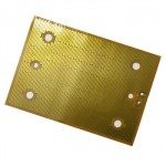 High Temperature Resistance Kapton Heater with Thermostat