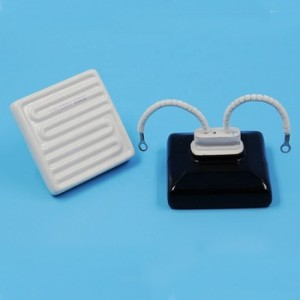 122*122mm 60*60mm Industrial square ceramic heater element for packing heating